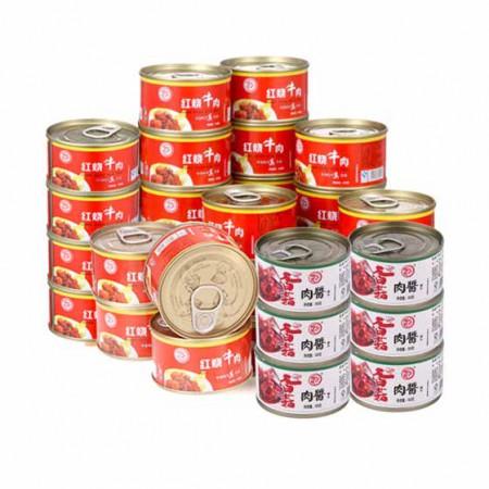 德丰秘制牛肉罐头15+15品尝组