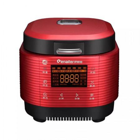 伊莱特EB-ITFD40R3 聚能碳鼎电饭锅4L碳鼎内胆多功能电饭锅·玫瑰红