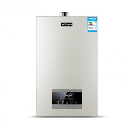 """万和""""四季感温""""智能恒温强排式燃气热水器16L"""