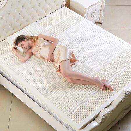 斯里兰卡原装进口IYOO七区按摩7.5公分乳胶床垫1.5米