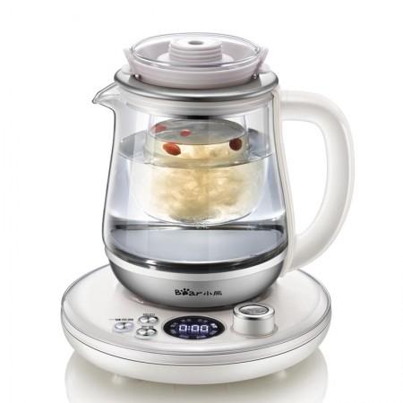 小熊(Bear)自动玻璃炖盅电热水壶养生壶YSH-A08L5