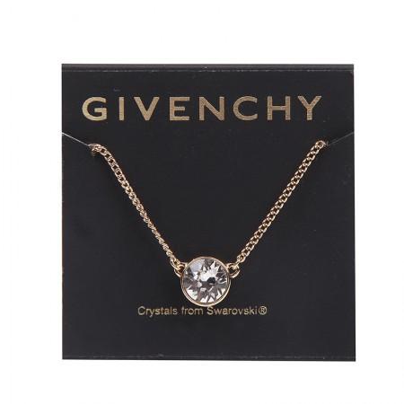 Givenchy/纪梵希 圆型单钻项链·金色