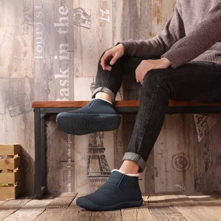万旗飞扬棉鞋B506·深蓝色(男款)