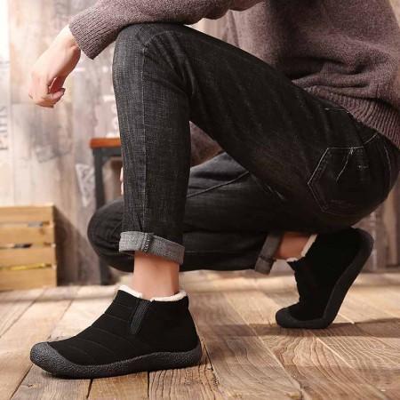 万旗飞扬棉鞋B506·黑色(男款)