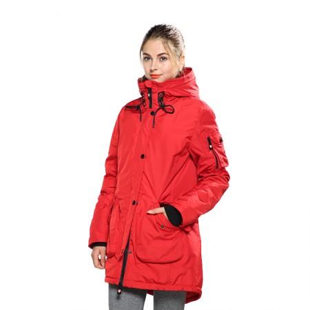 极脉杜邦科技羽绒服男女款·红色