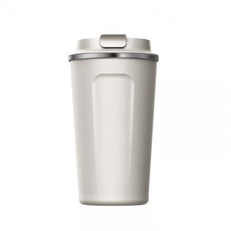 SIMELO施美乐 随行咖啡杯马克杯保温杯510ML·白色