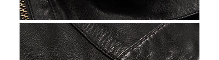 """商品說明 """"雪豹""""的皮衣材質均為真皮,皮革原料主要有綿羊皮,山羊皮圖片"""
