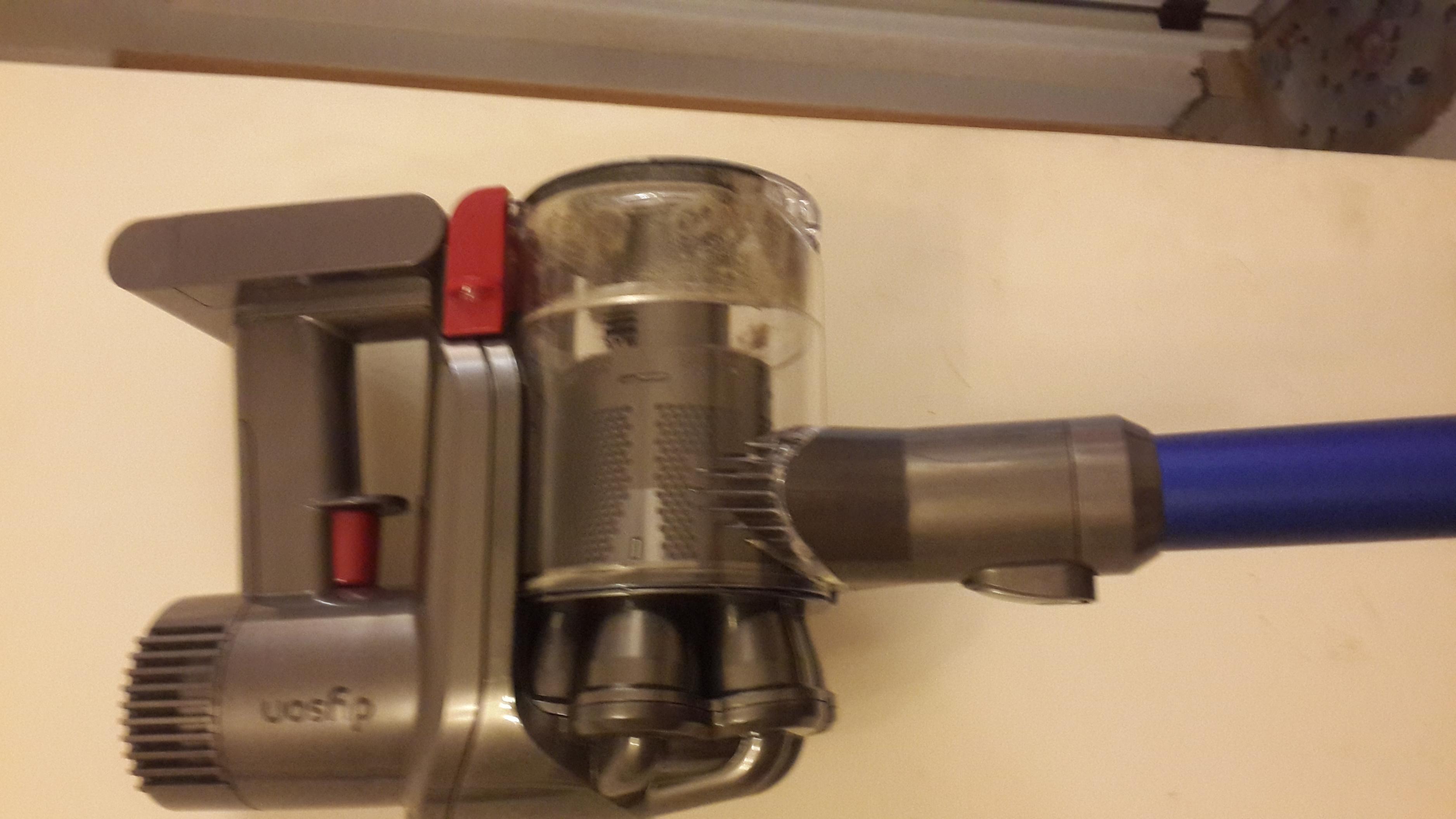 戴森原装进口无线吸尘器(dc45) 蓝色