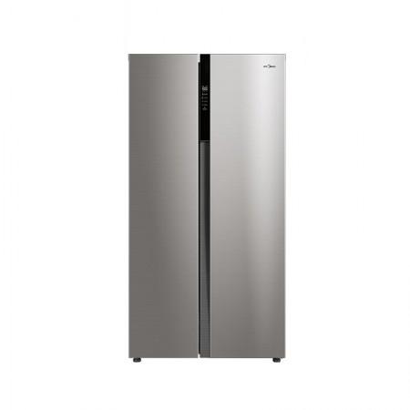 美的 变频对开门电冰箱风冷无霜525L BCD-525WKPZM(E)·银色