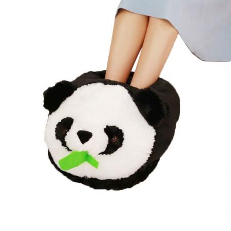 漫漫猪 创意冬季暖脚宝 可爱毛绒卡通动物·熊猫