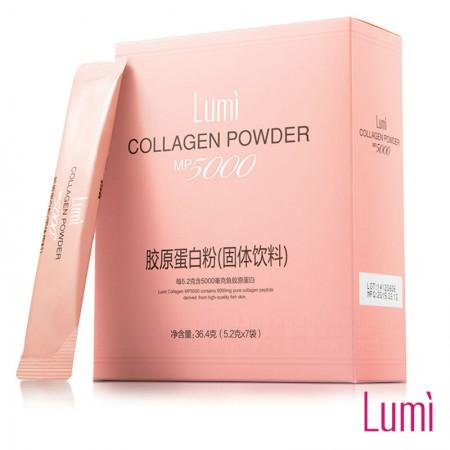 台湾进口 Lumi胶原蛋白微粒粉(固体饮料—5.8g*7包)